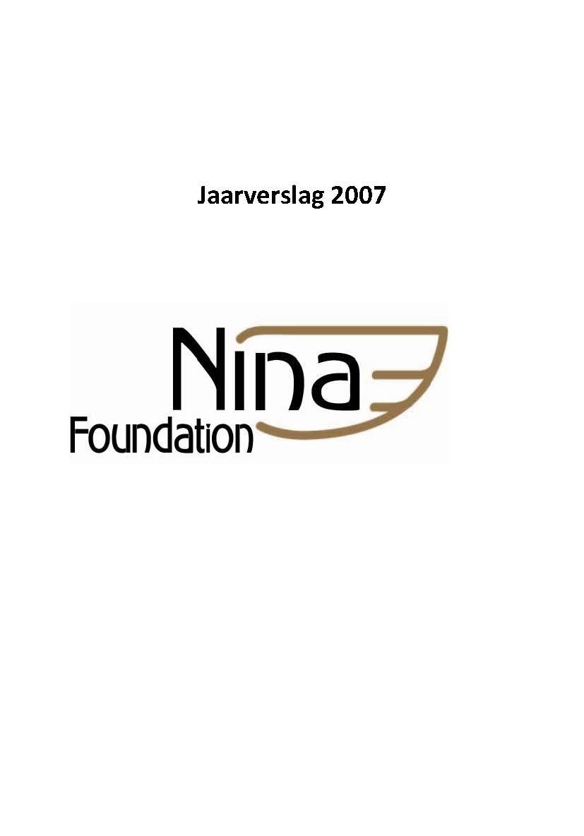 Jaarverslag 2007